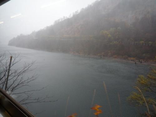 午後の田子倉ダム